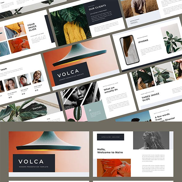 Volca PowerPoint Template