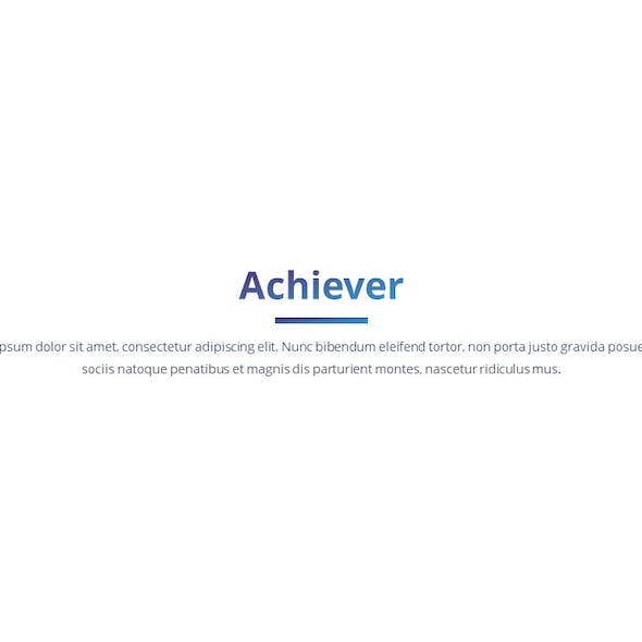 Achiever - Multipurpose Google Slides Template