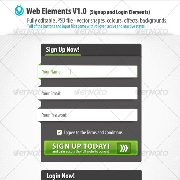Web Form Elements v1.0 by VO