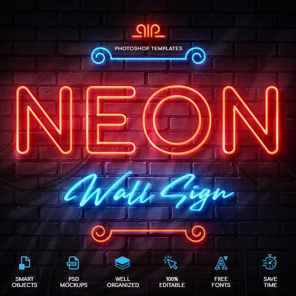Neon Wall Sign Creator