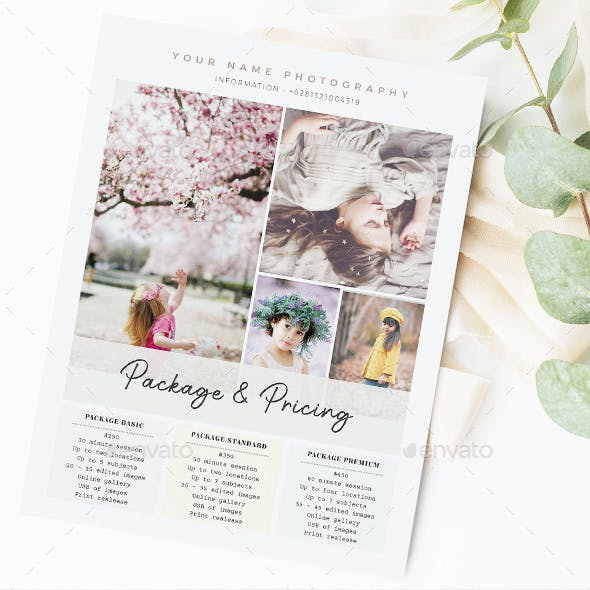 Creative Photography Flyer Marketing