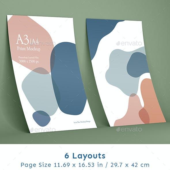A3 Print Mockup