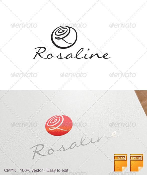 Rosaline Logo - Letters Logo Templates
