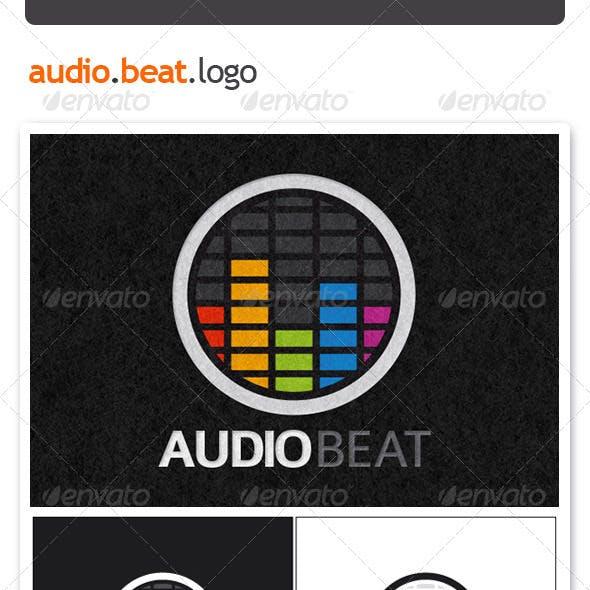 Audio Beat Logo Template