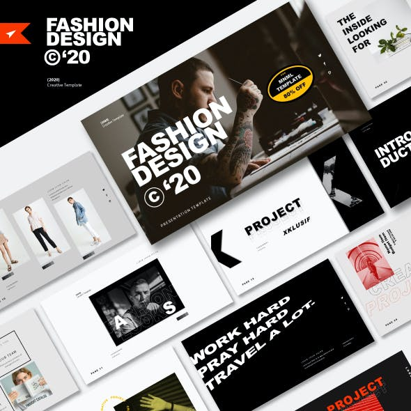 FASHION DESIGN 2020 - Business Powerpoint Template