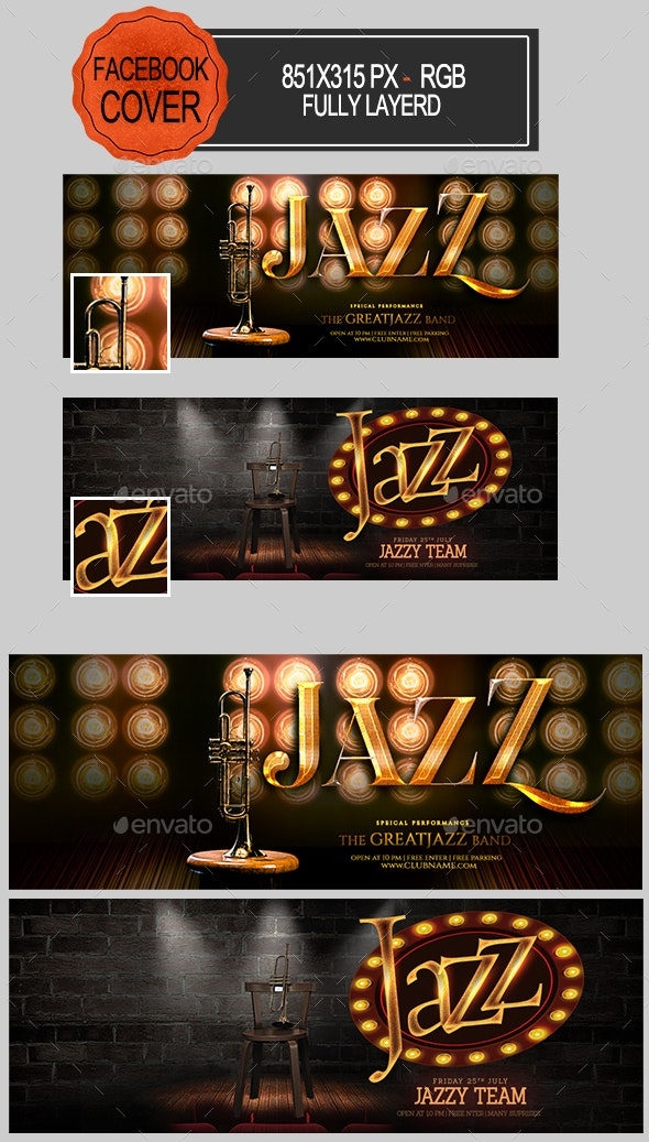 Jazz Facebook Covers - Facebook Timeline Covers Social Media