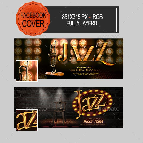 Jazz Facebook Covers