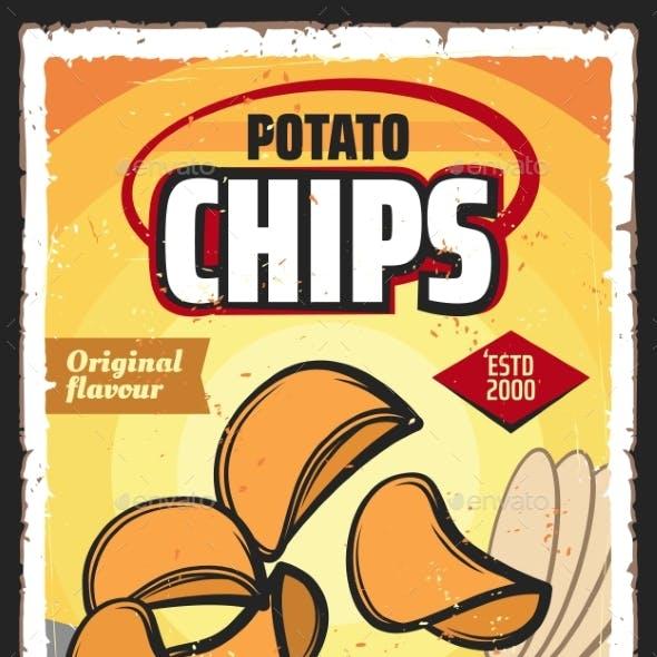 Potato Chips Snack Food, Vegetable Crisps