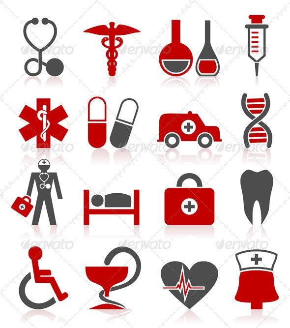Medical a symbol - Health/Medicine Conceptual