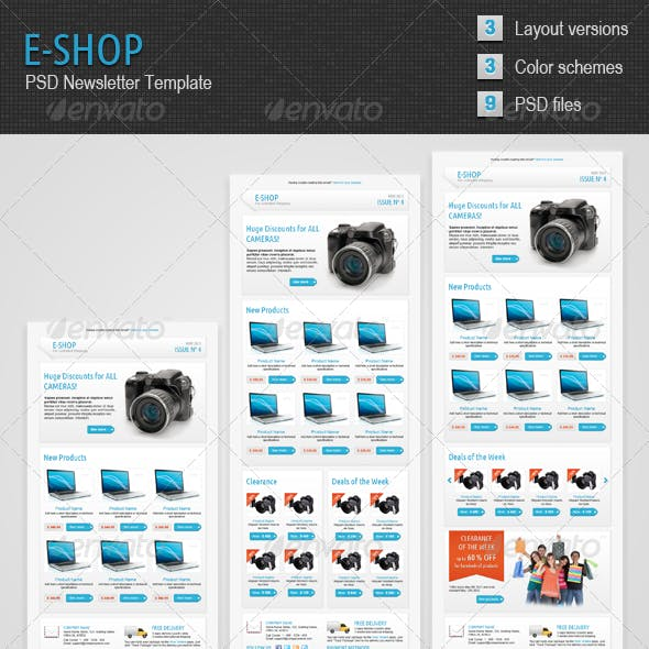 E-shop Newsletter Template