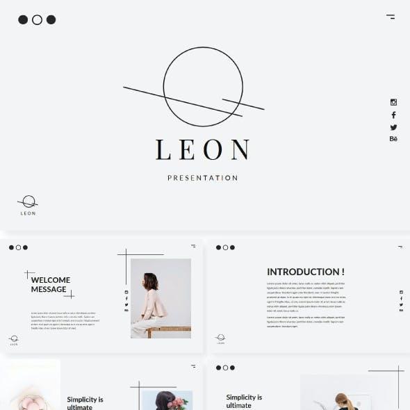 Leon Keynote Template