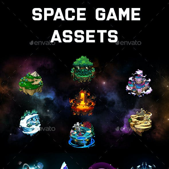 Space Game Assets