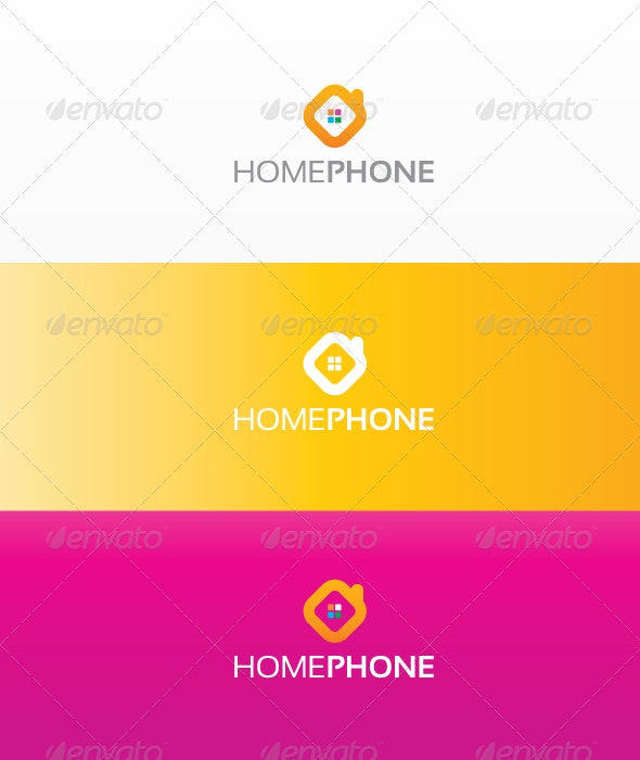 Home Phone - Objects Logo Templates