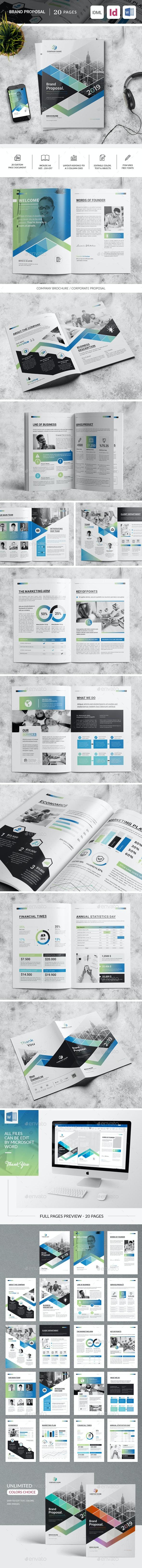 Brand Proposal - Corporate Brochures