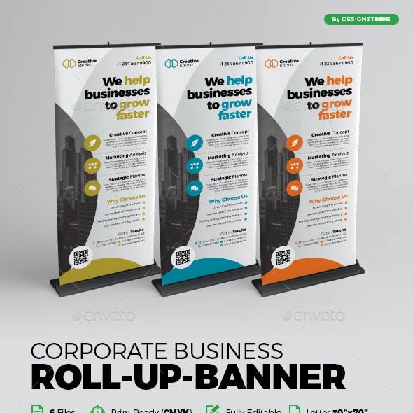 Roll Up Banner X Banner