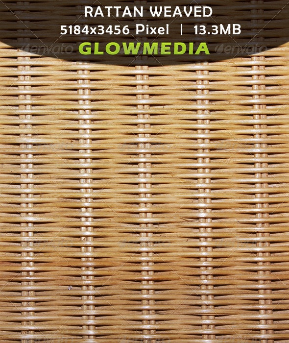 Rattan-Weaved - Backgrounds Graphics