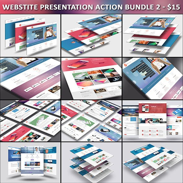 Webstite Presentation Action Bundle 2