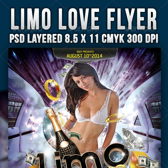Limo Love Flyer