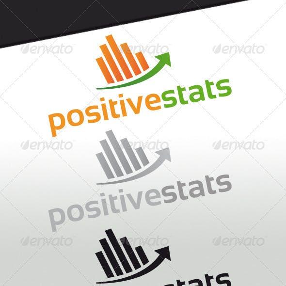 Positive Stats Logo