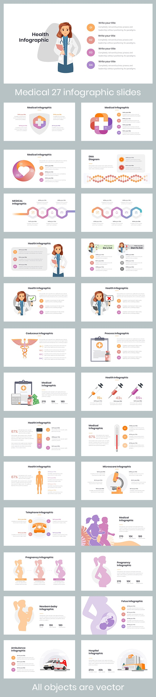 """Medical Infographic Template"" - PowerPoint Templates Presentation Templates"