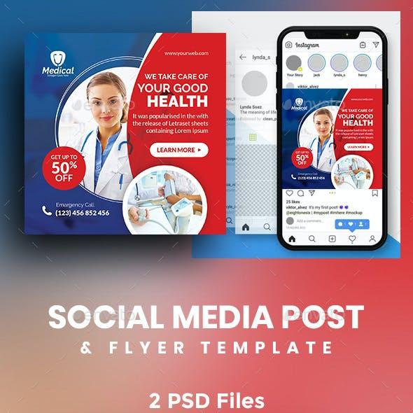 Medical Social Media Post & Flyer Templates