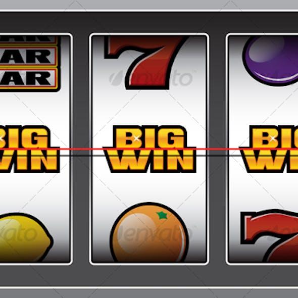 BIG WIN slot machine.
