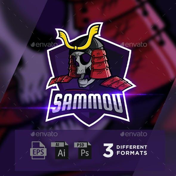 SAMMOU – Samurai Skull Esports Mascot