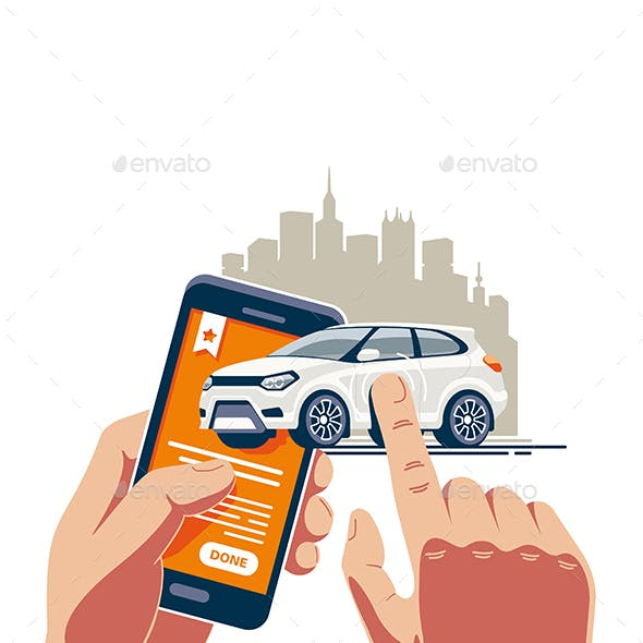 Online Buying and Selling Car