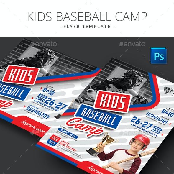 Baseball Kids Camp