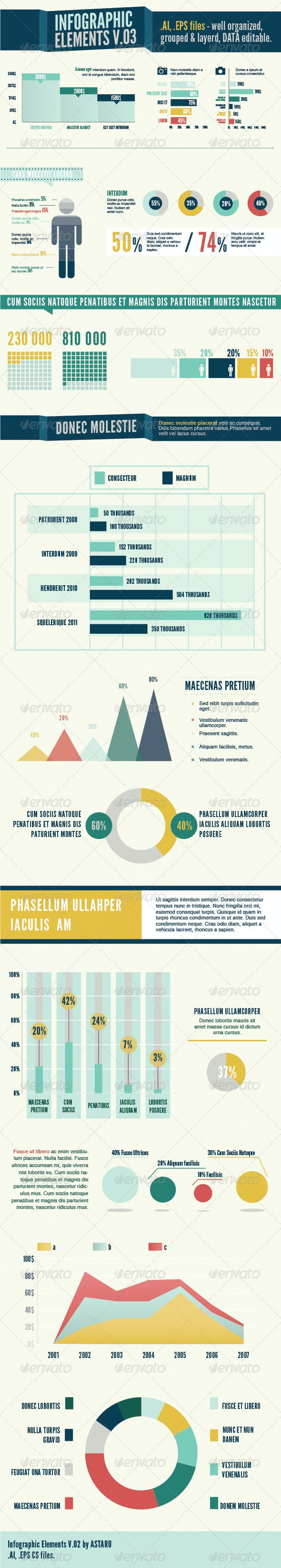Infographic Elements V.03 - Business Conceptual