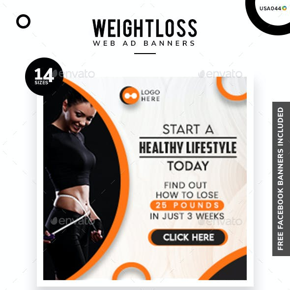 Weight Fitness Web Elements From Graphicriver