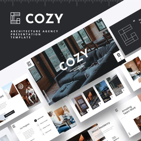 COZY - Architecture Agency Powerpoint Template
