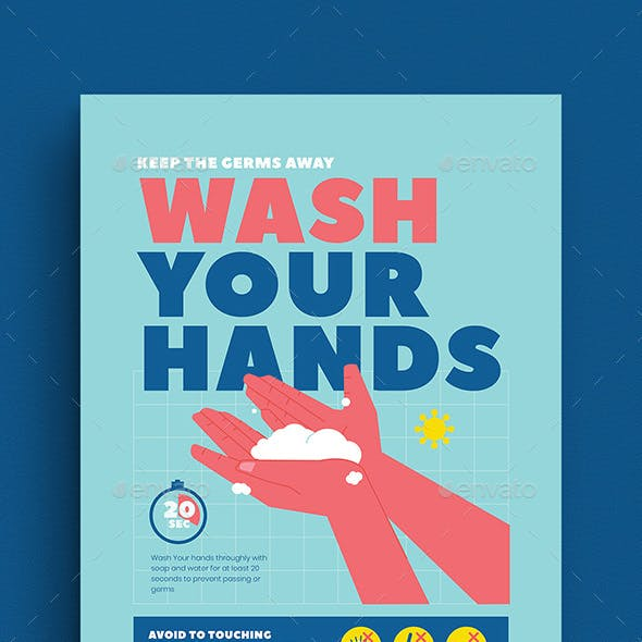Wash Your Hands Poster Campaign