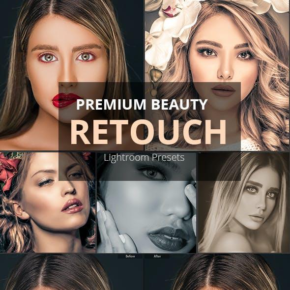 Skin Retouch Portrait Lightroom Presets