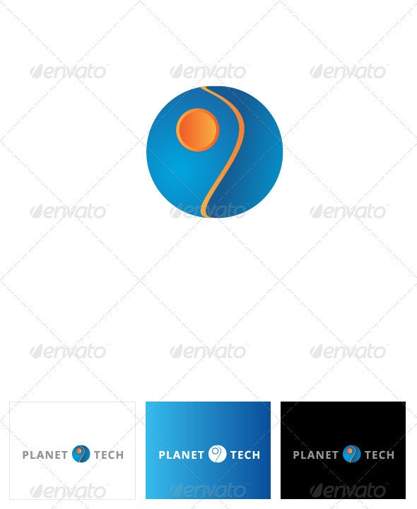 Planet Tech Logo Template - Logo Templates