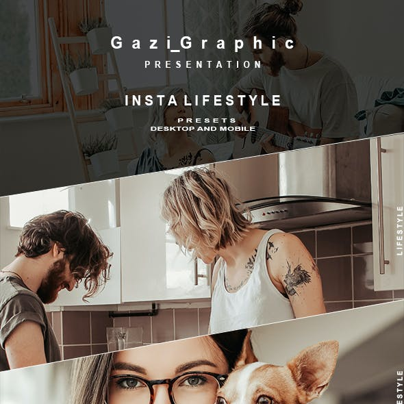 Insta Lifestyle Presets for Mobile and Desktop Lightroom