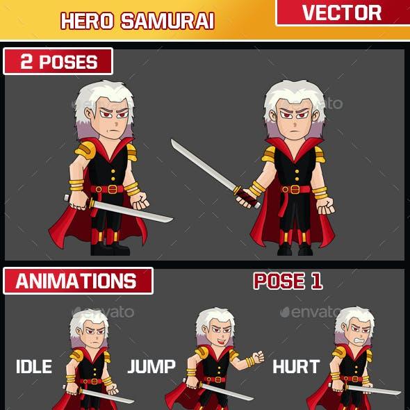 Hero Samurai Character