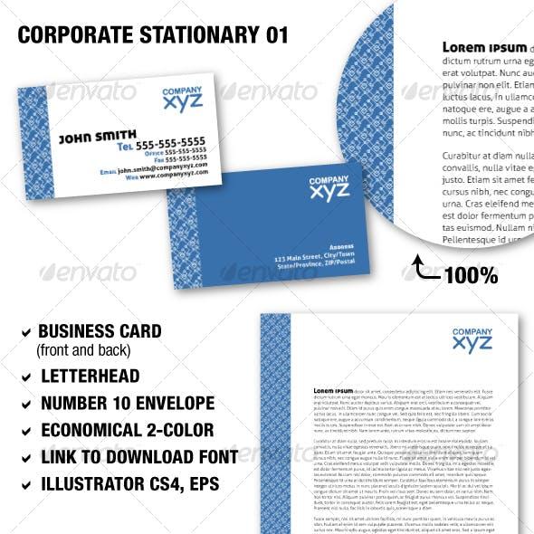 Corporate Stationary 01