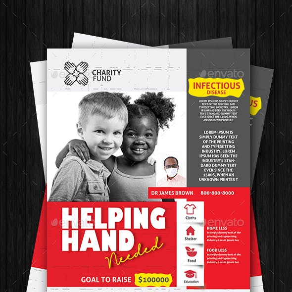 Donation Charity Flyer
