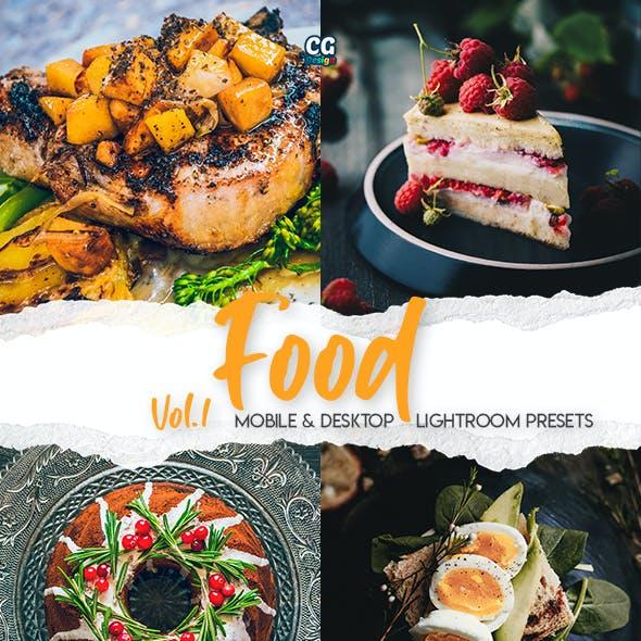 Food Lightroom Presets Vol. 1 - 15 Premium Lightroom Presets