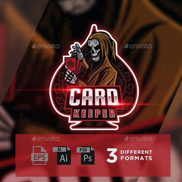 Card Keeper - Gaming Logo For Esports