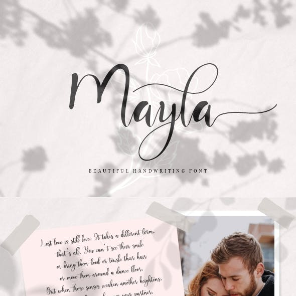 Mayla - Handwriting Script