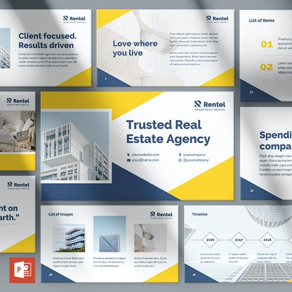 Apartment Rental PowerPoint Presentation Template