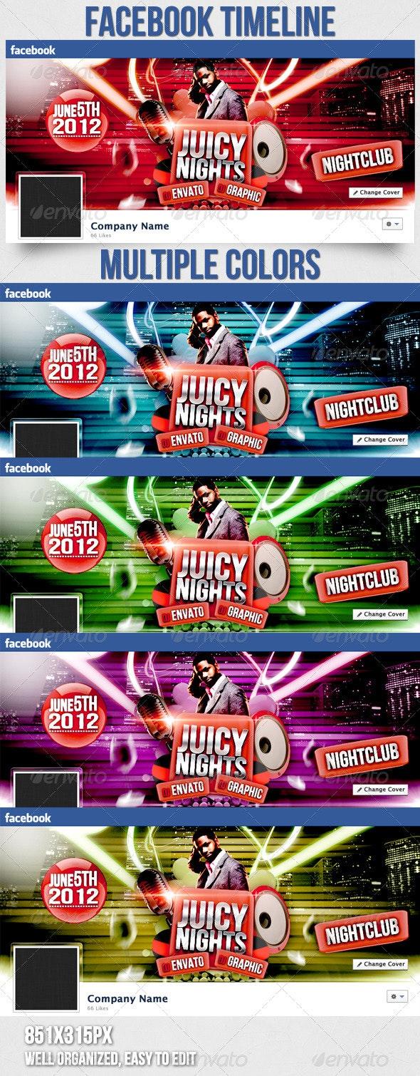 Juicy Nights Vol.3 Facebook Timeline - Facebook Timeline Covers Social Media