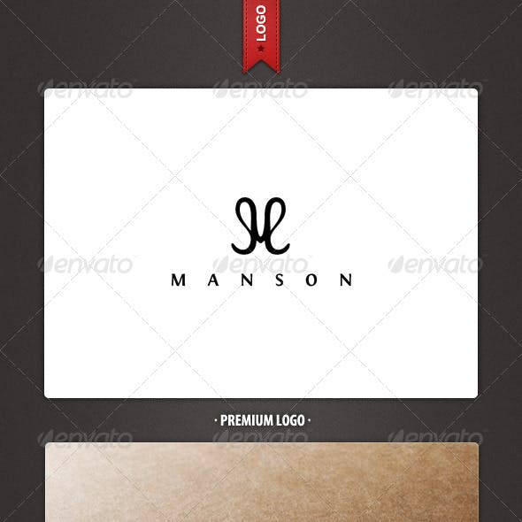 Manson - Letter M Logo Template