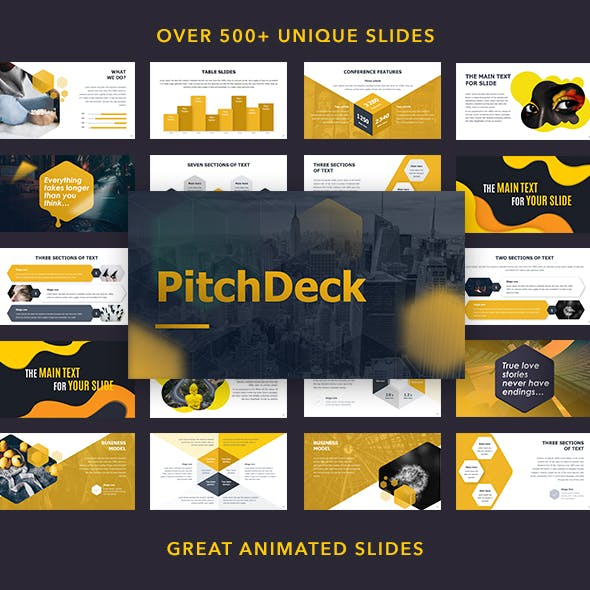 Pitch Deck Animated Powerpoint