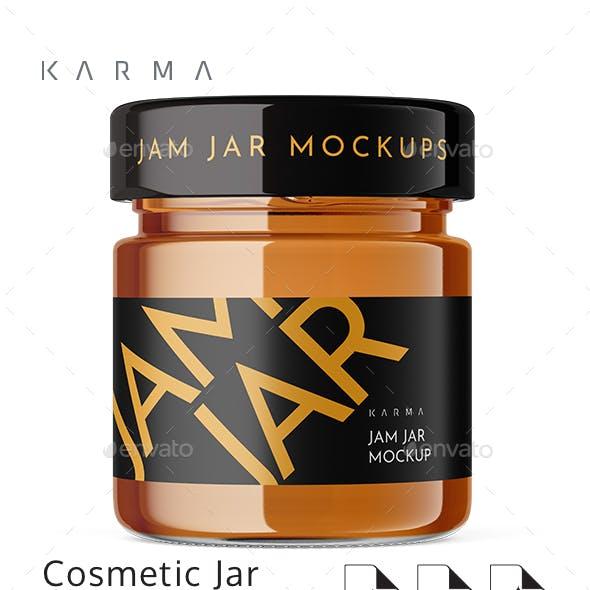 Jar Jam Mockup