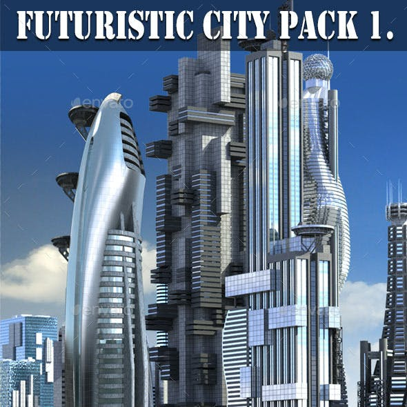 Futuristic City Pack 1.
