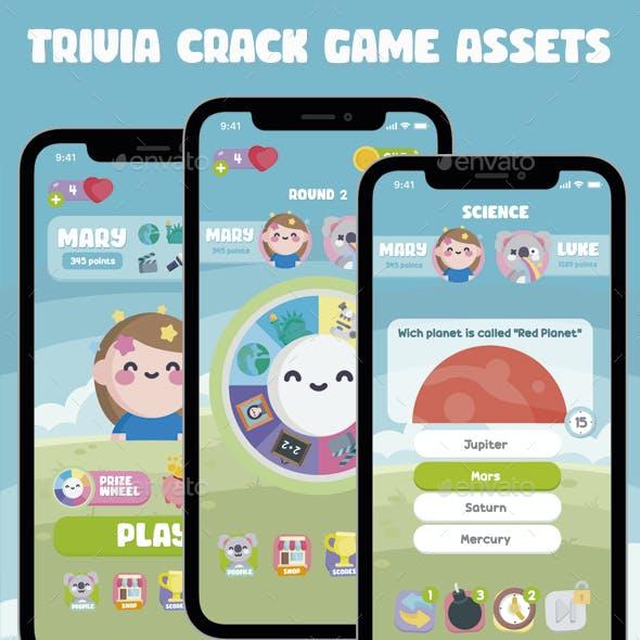 Trivia Crack Game Kit Assets