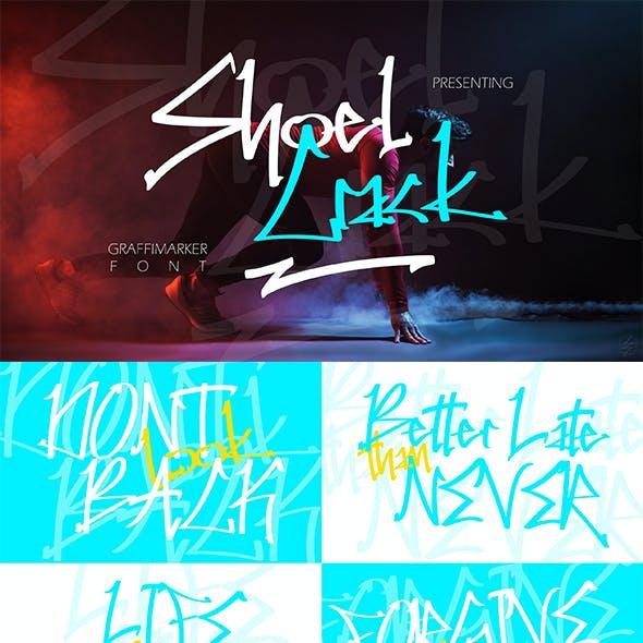 Shoel Crack - Marker Font